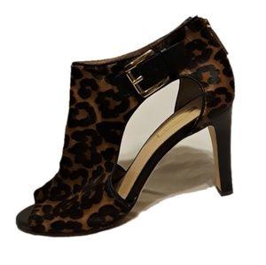 Louise et Cie Olivis Leopard Heel Bootie